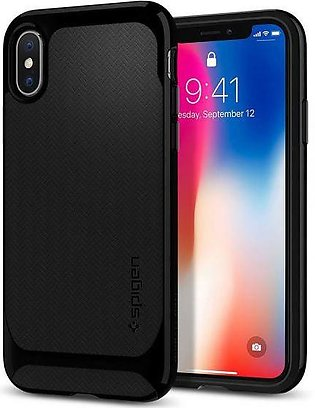 Spigen iPhone X Case Neo Hybrid – Jet Black