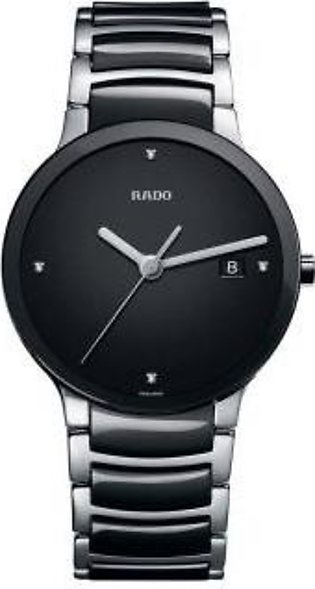 Rado Centrix Quartz Black Dial Men's Watch