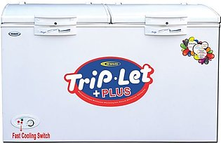 Waves WT-2200TL 2 Door TripLet Deep Freezer