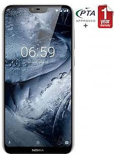 Nokia 6.1 Plus - 64GB 4GB White
