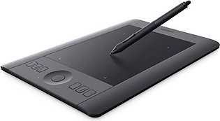 Wacom Intuos Pro Professional Pen & Touch Tablet Black Small