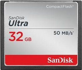 SanDisk 32GB Ultra CompactFlash Memory Card