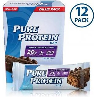 Pure Protein® Pure Protein® Bar - Chewy Chocolate Chip (12 bars)