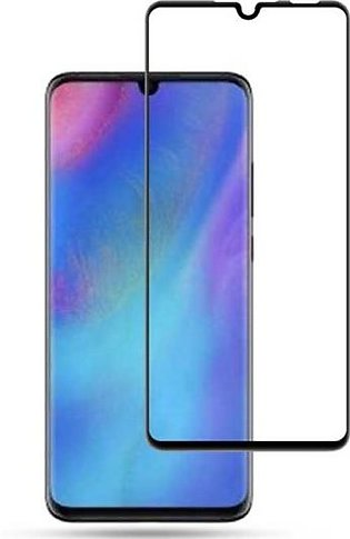 Huawei P30 Lite 3D Glass Protector Full Glue Edge to Edge Tempered – Black