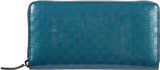 Gucci women's wallet leather coin case holder purse card bifold avel rock lux...
