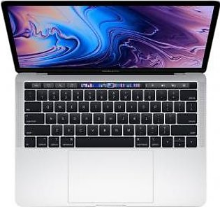 "Apple MacBook Pro 2019 13"" 256GB 2.4GHz MV992 Silver with Touch Bar and Touch ID"