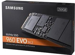 Samsung 250GB 960 EVO NVMe M.2 Internal SSD