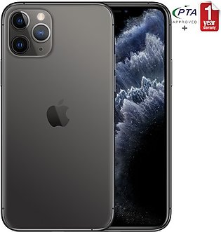 Apple iPhone 11 Pro Max 512GB Space Gray Single Sim (PTA Approved)