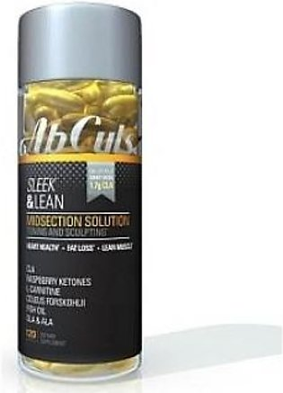 Ab Cuts Sleek & Lean - Midsection Solution (120 softgels)