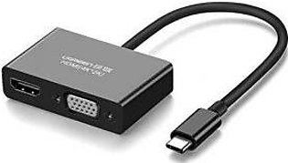 Ugreen Type-C to HDMI VGA Converter Adapter