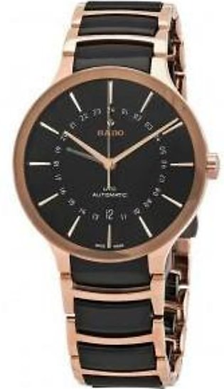 Rado Centrix GMT Automatic Black Dial Men's Watch