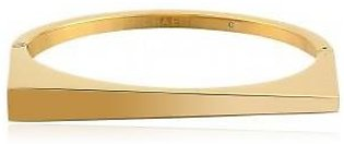 Michael Kors Gold-Tone Asymmetric Bangle Bracelet