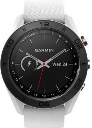 Garmin Approach S60 Golf Watch White with White Band