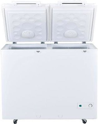 Haier HDF-545 2 Door Chest Deep Freezer