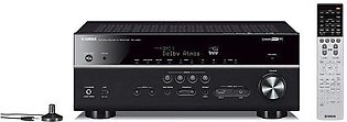 Yamaha RX-V683BL 7.2-Channel MusicCast with Bluetooth, Works with Alexa AV Re...