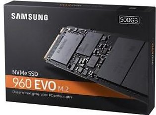Samsung 500GB 960 EVO NVMe M.2 Internal SSD