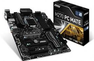 MSI H270 PC Mate LGA1151 ATX Motherboard