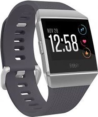 Fitbit ionic Smartwatch Blue-Grey / Silver-Grey
