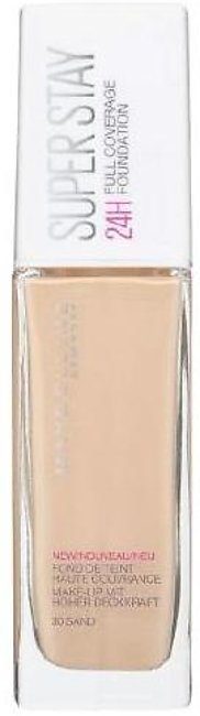 Maybelline Super Stay 24h Full Coverage Foundation - Ivory #10