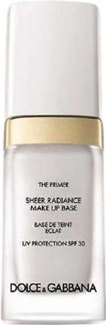 Dolce & Gabbana The Primer Sheer Radiance Makeup Base With Sunscreen