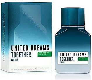 Benetton Together For Him EDT Spray 100ml