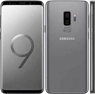 Samsung Galaxy S9+ Single Sim (4G, 6GB RAM, 128GB ROM) Gray