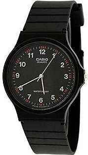 Casio MQ24-1B Analog Watch Black 1 Size