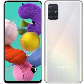 Samsung Galaxy A51 (128GB 6GB) Prism White - Official Warranty
