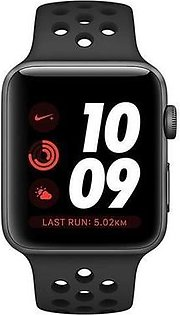 Apple Watch Series 3 Nike+, MQMF2 GPS+Cellular 42mm Space Grey Aluminum Case (with Nike Sport Band)