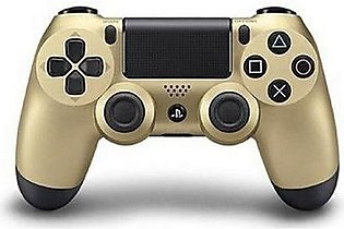 Dualshock 4 Wireless Controller For Ps4 - Gold & Black