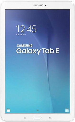 Samsung Galaxy Tab E - T560 (8GB, WiFi, White)