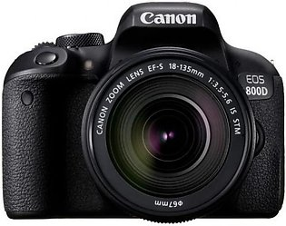 Canon EOS 800D Body + 18-135mm IS STM