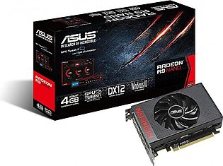 ASUS AMD Radeon R9 NANO 4096-Bit 4GB HBM DisplayPort HDMI 2.0 Graphics Cards ...