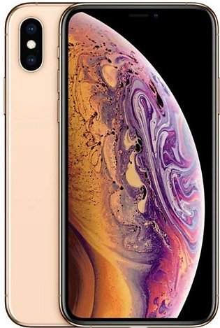 Apple iPhone XS Max Single Sim (4G, 256GB Gold)