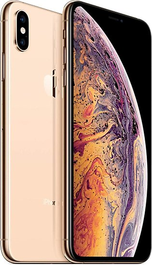 Apple iPhone XS Max Dual Sim Nano (4G, 64GB Gold)