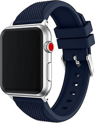 Sports Soft Silicone Replacement Sports Band Strap For Apple Watch Series 3
