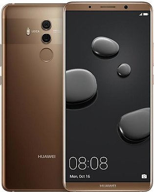 Huawei Mate 10 Pro Dual SIM - 64GB, 4GB RAM, 4G LTE, Mocha Brown Official War...