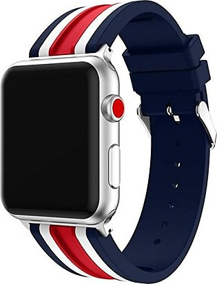 New Fashion Soft Silicone Replacement Sports Band For Apple Watch Series 3