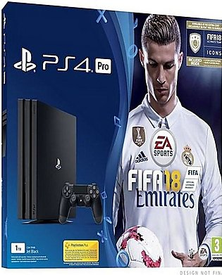 Sony PlayStation 4 Pro 1Tb With FIFA 18 Ronaldo Edition
