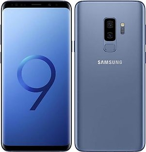 Samsung Galaxy S9+ Single Sim (4G, 6GB RAM, 64GB ROM, Coral Blue)