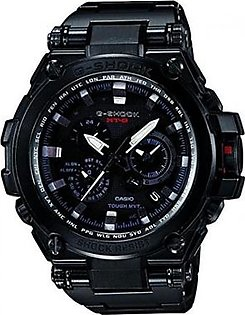 Casio G-Shock Black Dial Stainless Steel Resin Quartz Men's Watch MTGS1000BD-1A