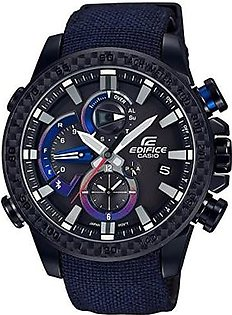 CASIO EDIFICE Scuderia Toro Rosso Limited Edition RACE LAP CHRONOGRAPH EQB-800TR-1AJR MENS