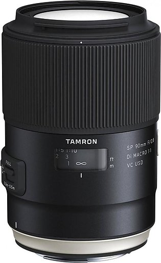 Tamron SP 90mm f/2.8 Di Macro 1:1 VC USD Lens for Canon EF