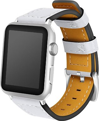 Apple Watch Band 42mm 38mm,Genuine Leather Replacement Strap iWatch Band for Ap…