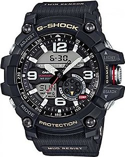 Men's Casio G-Shock Twin Sensor Mudmaster Black Watch GG1000-1A