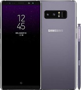 Samsung Galaxy Note 8 N950U Single Sim (4G, 6GB RAM, 64GB ROM, Orchid-Grey)
