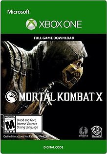 Mortal Kombat X - Xbox One [Digital Code] Warner Bros. Digital code