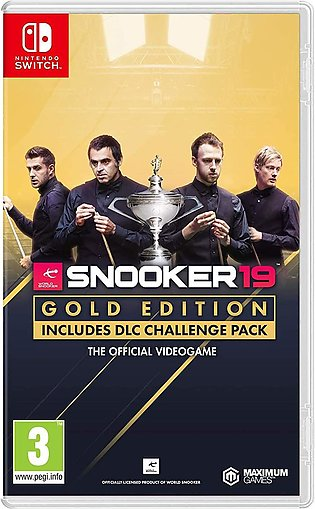 Snooker 19 Gold Edition (Nintendo Switch)