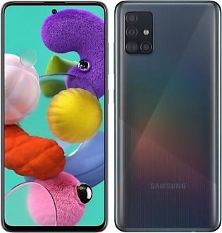 Samsung Galaxy A51 (128GB 6GB)  Prism Black - Official Warranty
