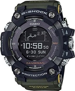 Casio G-SHOCK RANGEMAN Solar-Assisted GPS Navigation GPR-B1000-1BJR Mens